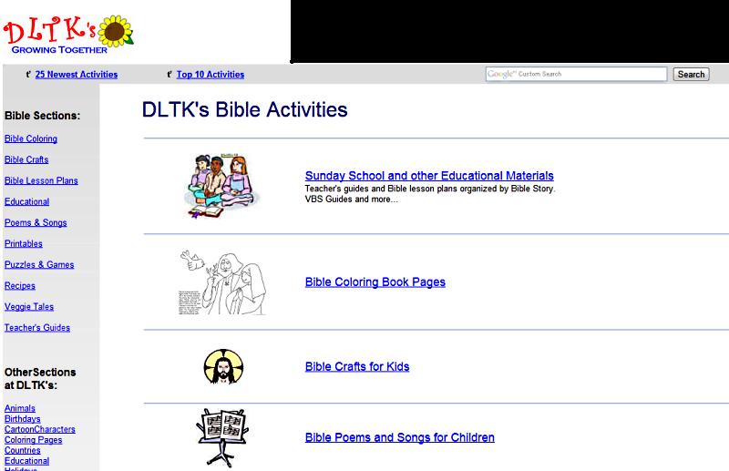 dltk bible coloring pages - dltk resurse pentru catehez