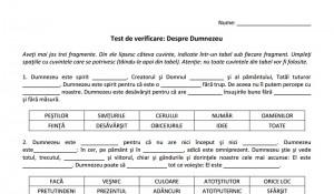 Test-DespreDumnezeu
